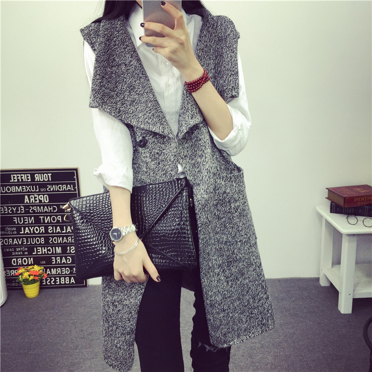 European and American style 2015 New Autumn Fashion Women Vintage ...