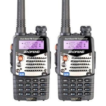 2PCS UV-5RA 136-174/400-520 Dual-Band DTMF CTCSS 2 Way Radio 5RA Original BAOFENG