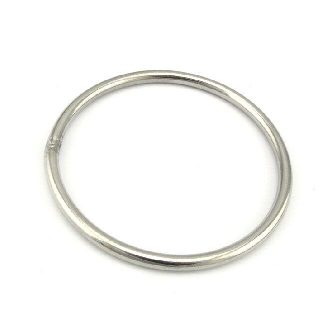 3*20mm (OD) round ring welded stainless steel 304 wholesale, boat hardware rigging hardware