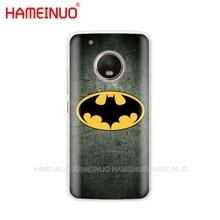 HAMEINUO The Avengers batman marvel coque case phone cover For Motorola Moto X4 C G6 G5 G5S G4 Z2 Z3 PLAY PLUS