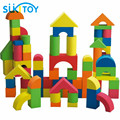 Детский ЕВА Мягкие Блоки Набор 41 ШТ. Высокое Качество С Хорошей Упаковкой для Мальчики девочки подарок красочный Монтессори игрушки