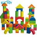 Bloques de Construcción EVA Suave del cabrito Fijó 41 UNIDS de Alta Calidad Con El Buen Embalaje para Niños niñas de regalo colorido Montessori juguetes