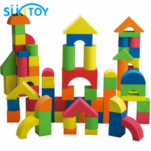 SUKIToy Kid's EVA Soft Building Blocks Set 41PCS High Quality With Good Packing for Boys girls gift colourful Montessori SC007