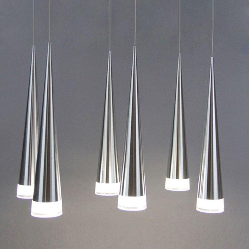 Moderne led Konische anhänger licht Aluminium & metall home/Industrielle beleuchtung hängen lampe esszimmer/wohnzimmer bar cafe droplight leuchte