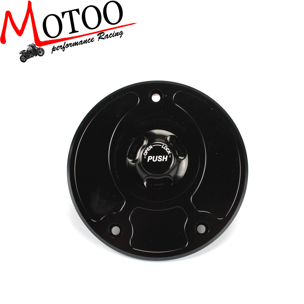 Motoo - Motorcycle New CNC Aluminum Fuel Gas CAPS Tank Cap tanks Cover With Rapid Locking For Kawasaki Z750 Z1000 ZX-10R ZX-9R motoo motorcycle new cnc aluminum fuel gas caps tank cap tanks cover with rapid locking for kawasaki z750 z1000 zx 10r zx 9r