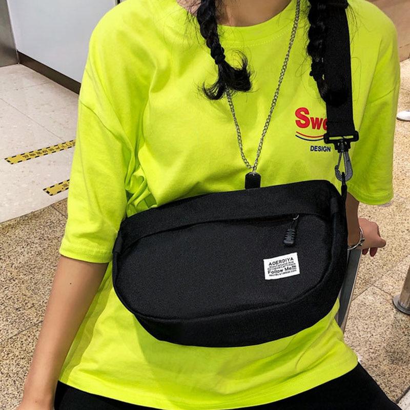 Unisex Waist Bag Fanny Pack Women's Chest Bags Banana Packs Street Style Hip Hop Package Large Capacity Crossbody Bag Bum Pack