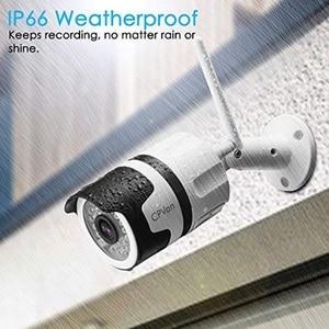 Image 4 - CPVan IP6 IP המצלמה HD 1080P WiFi Bullet מצלמה עם עמיד למים ראיית לילה זיהוי תנועה אלחוטי חיצוני וידאו Surveillanc