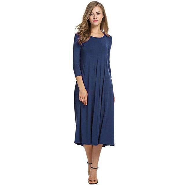 2018 Women Linen Vintage Dress Patchwork Casual Loose Boho Long Maxi Dresses Plus Size 2XL 3XL Large Sizes Dresses  3