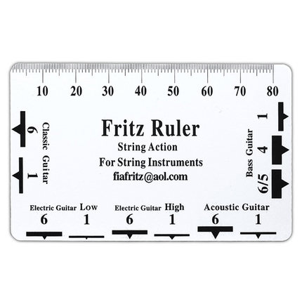 graphic about String Action Gauge Printable referred to as US $6.99 Pylon Do it yourself Resource Guitar B String Step Card, Fritz Ruler Plastic/Steel String Pitch Top Ruler Luthier Software-within just Guitar Sections