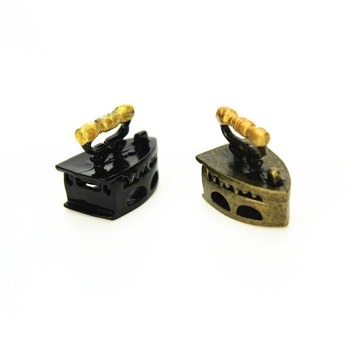 Mini doll house accessories simulation box gold hot bucket model mini house fine miniature