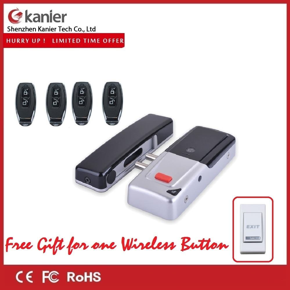 Wireless Remote Control Home Door Locks Smart Electronic