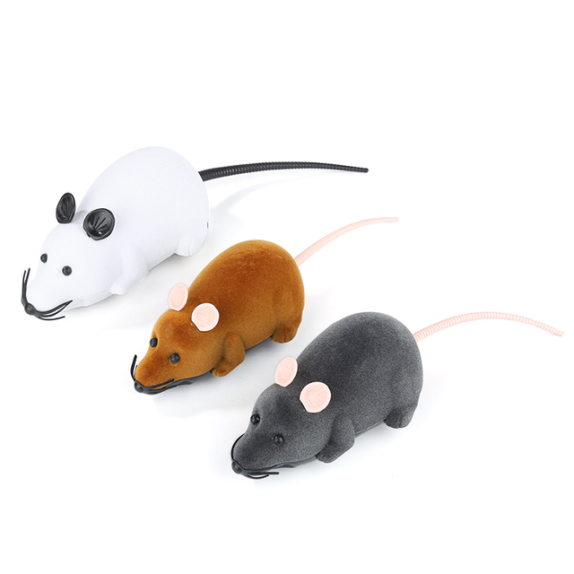 Wireless Funny Cat Mice Toy 2