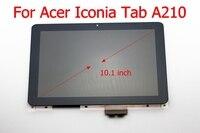 STARDE 交換液晶エイサー Iconia タブ A210 Lcd ディスプレイタッチスクリーンデジタイザアセンブリ 10.1