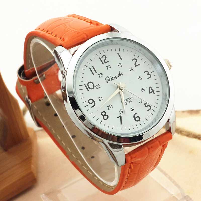 2019 Luxury Brand Watches Elegant Analog Luxury Sports Leather Strap Quartz Women Mens Wrist Watch Clock relojes para mujer A7