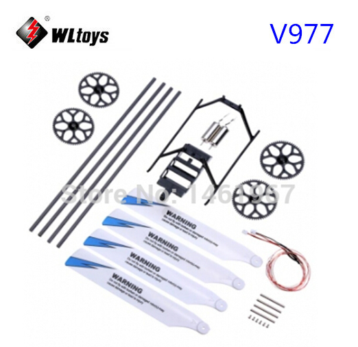 Tool Parts Generous Wltoys V977 Rc Helicopter Accessories Bag Kv977-003 Latest Fashion