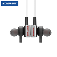Wonstart TS01 Bluetooth Earphone Sports Headphones with neckband and microphone Cordless Headphone for mobile phone