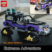 Presell Lepin 20057 2050Pcs Genuine Mechanical Series The Ultimate Extreme Adventure Car Set Building Blocks Bricks
