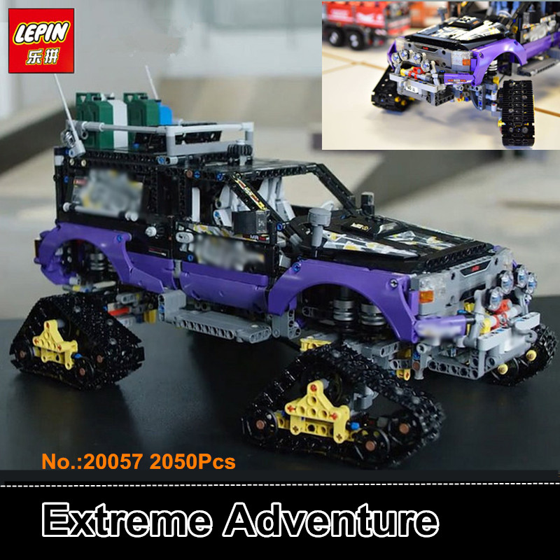 IN STOCK Lepin 20057 2050Pcs Genuine Mechanical Series The Ultimate Extreme Adventure Car Set Building Blocks Bricks Toys 42069 2050pcs 2in1 techinic extreme adventure