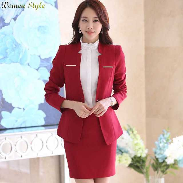 Free Shipping New Spring And Autumn Wear Ladies Dress Suits Women