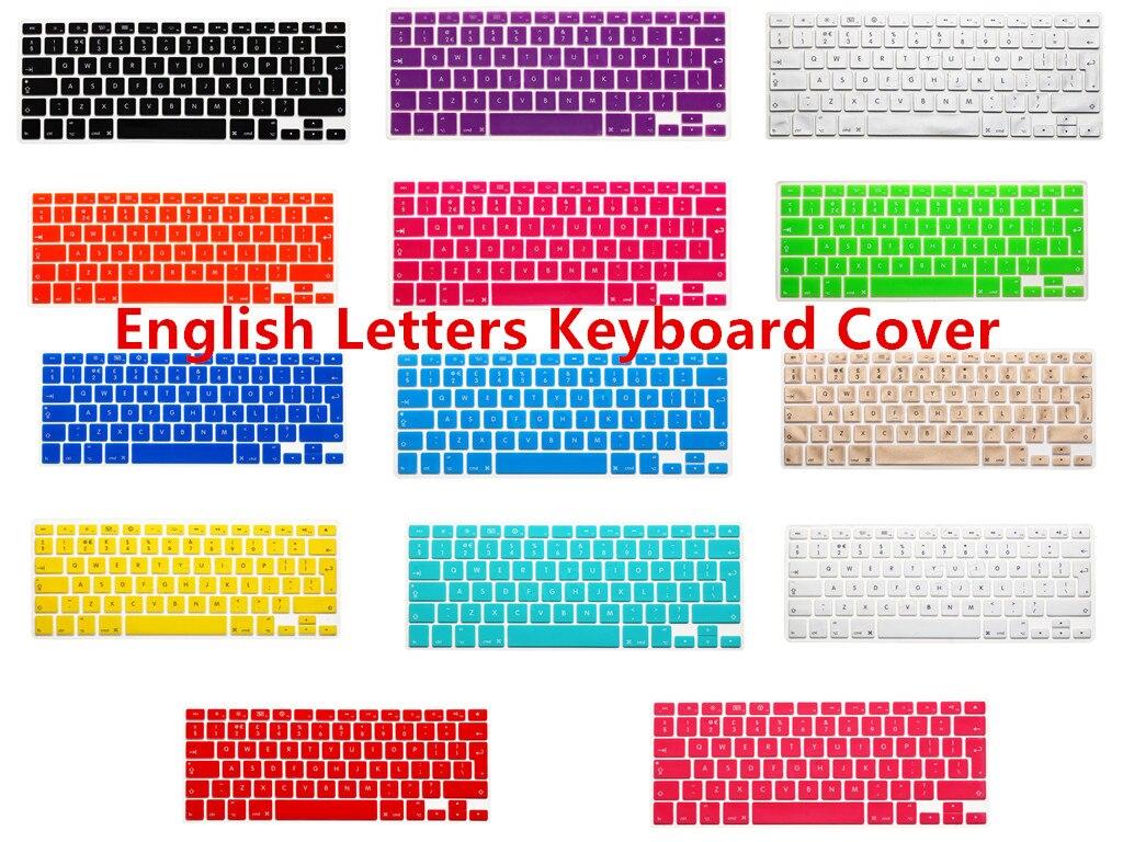 Book Cover Layout Keyboard : Silicone uk eu layout keyboard cover skin protector
