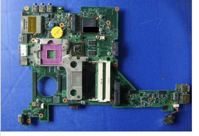 496097-001 lap  DV3000 pM45 connect with printer motherboard full test lap connect board 574680 001 1gb system board fit hp pavilion dv7 3089nr dv7 3000 series notebook pc motherboard 100% working