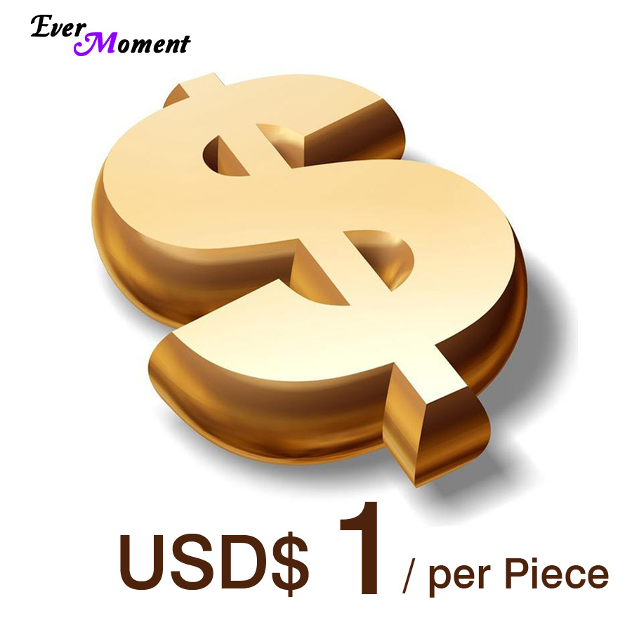 USD$1 Per Piece To Make Up The Price Difference, Supplementary To The Total Amount EF-1