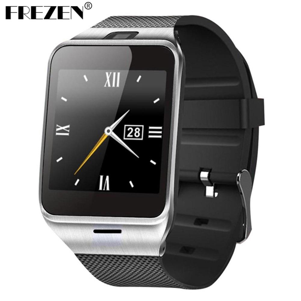 FREZEN Smart Watch GV18 Aplus Android Clock Sim Sync Notifier With NFC Camera Bluetooth Smartwatch Sport