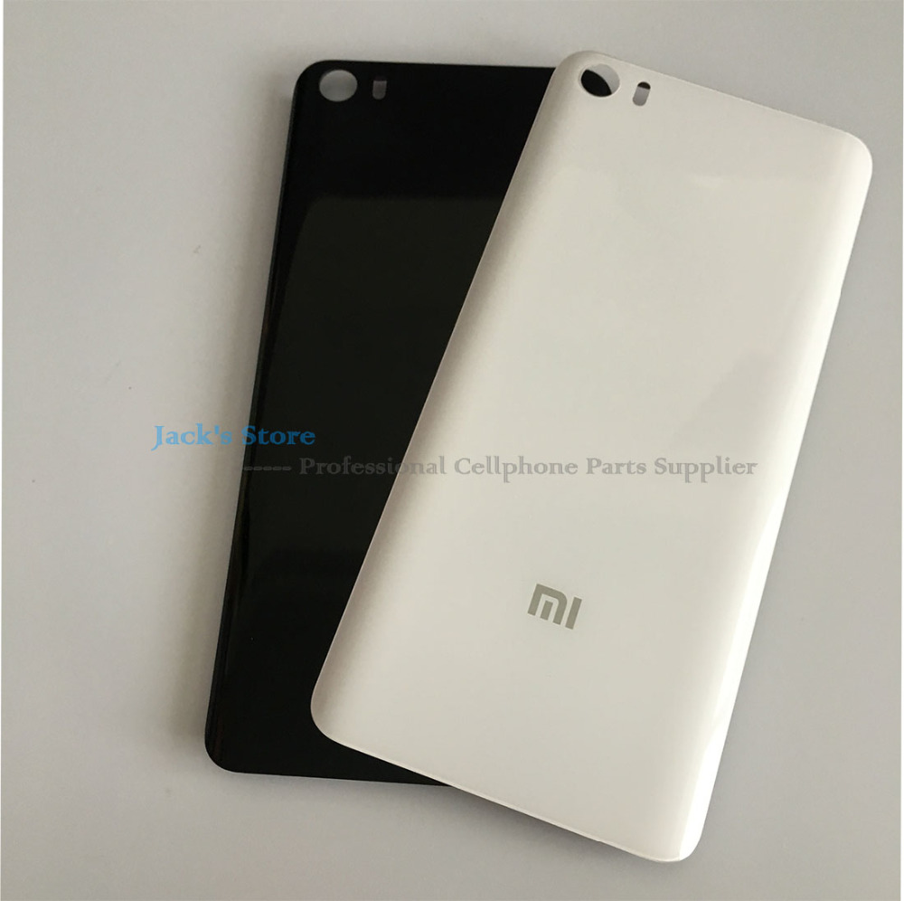 for Xiaomi Mi 5 M5 Mi5 Battery Cover Original 3D Glass Material Back Battery Door Housing