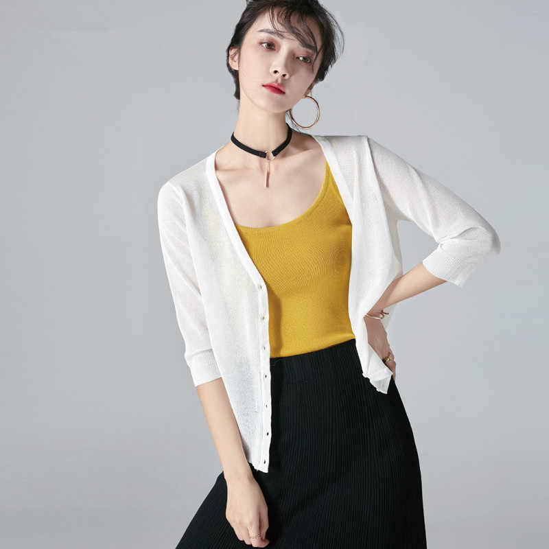 KMETRAM קוריאני קרדיגן סוודר נשים בגדי 2019 קיץ אביב מעיל נשים חולצות Streetwear סוודרים מעיל למשוך Femme MY3145
