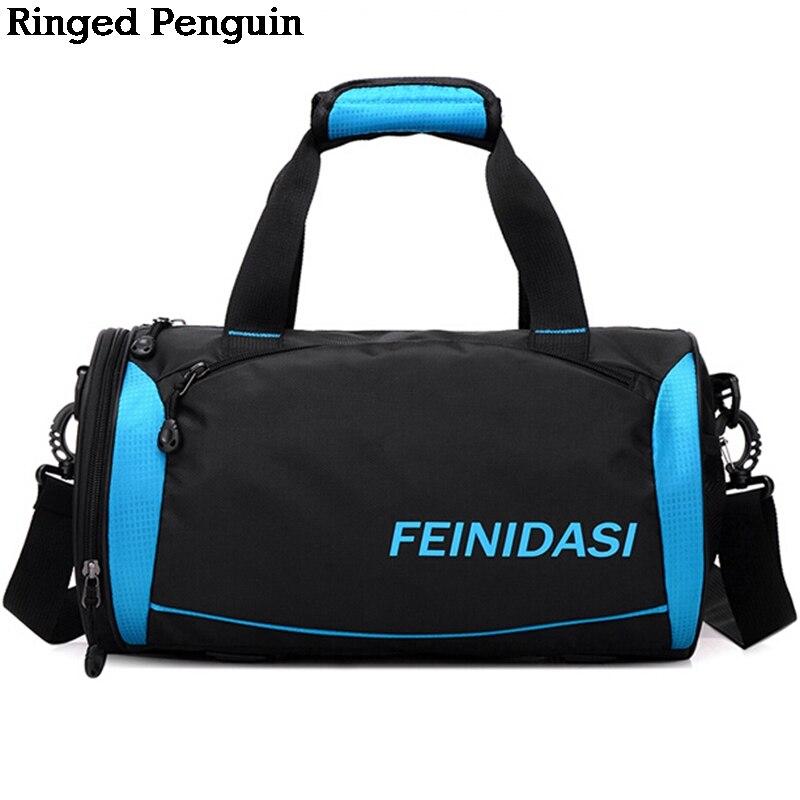 Ringe Penguin Vattentäta Män Rese Väskor 2018 Barrel Portable - Väskor för bagage och resor - Foto 1