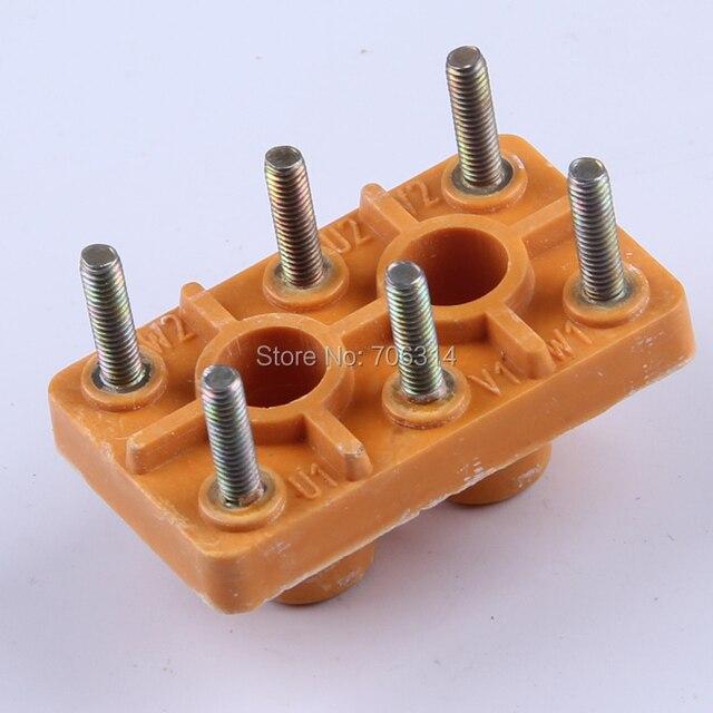 Y80-90 Electric motor terminal block.