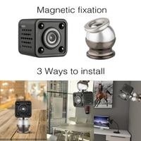 1080P Mini Camera Magnetic Fixation Wireless Smart WiFi Camera WIFI Audio Record Baby Monitor Night Vision