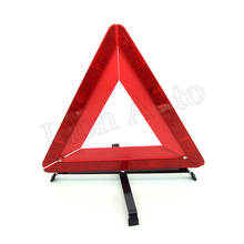 Automotive Warning Triangle Vehicle Parking Reflective Signs Collapsible Emergency Safety Supplies