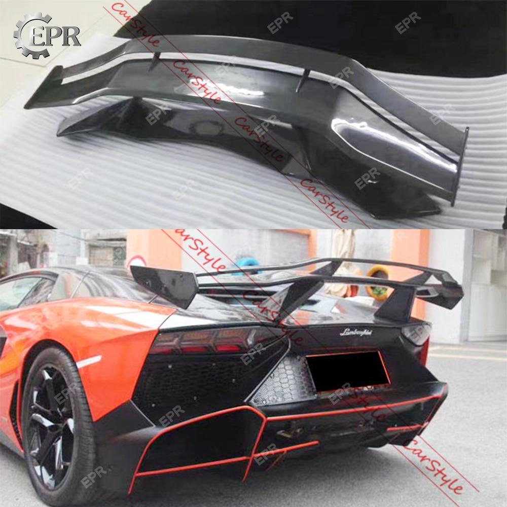 Exterior Parts Hot Sale Carbon Side Skirt Extension For Lamborghini Aventador Lp700 Spd Style Carbon Fiber Side Skirt Extension Body Kit Trim Accessorie