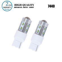 2PCS Hight Power 7440 50W with Cree XPE Chips W21W LED Turn Signals Reversing Lam Backup Light Driving Lamp Led Car Bulbs