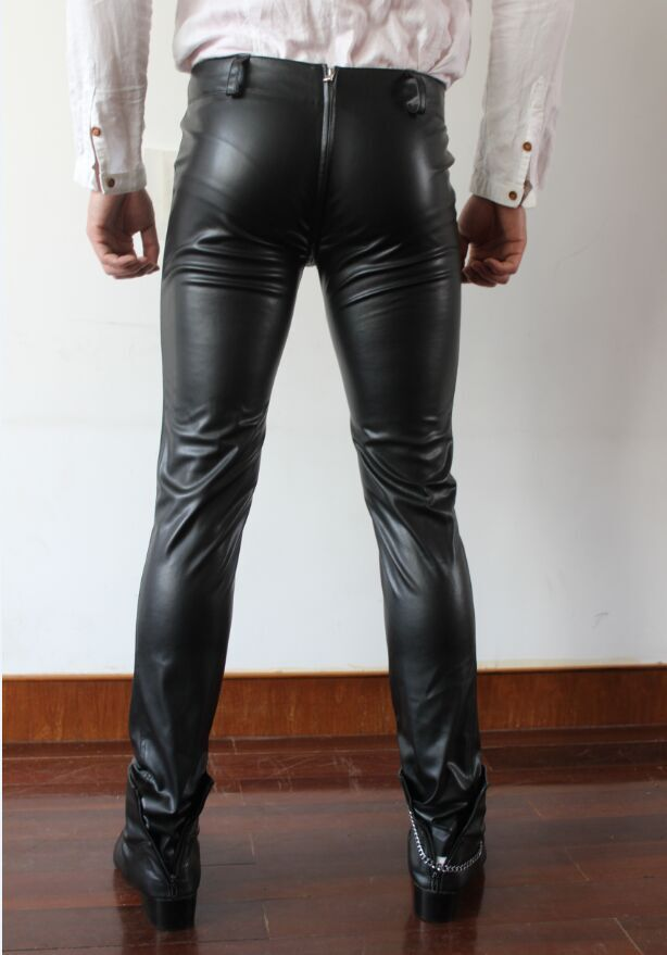 tight leather pants tube