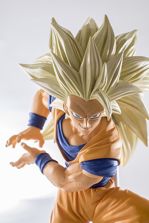 SAINTGI Dragon Ball Z Action Figures Master Stars Piece The Son Goku Super Saiyan3 Collection Model T631