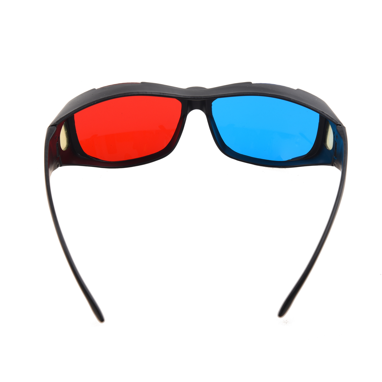 CES-New Plastic Framed Dimensional Anaglyph 3D Vision Glasses Plasma TV Movie