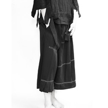 27-44 2018 neue männer kleidung der Haar Stylist GD Mode Lose rock hosen  Culotte plus größe kostüme c0c1d1173c