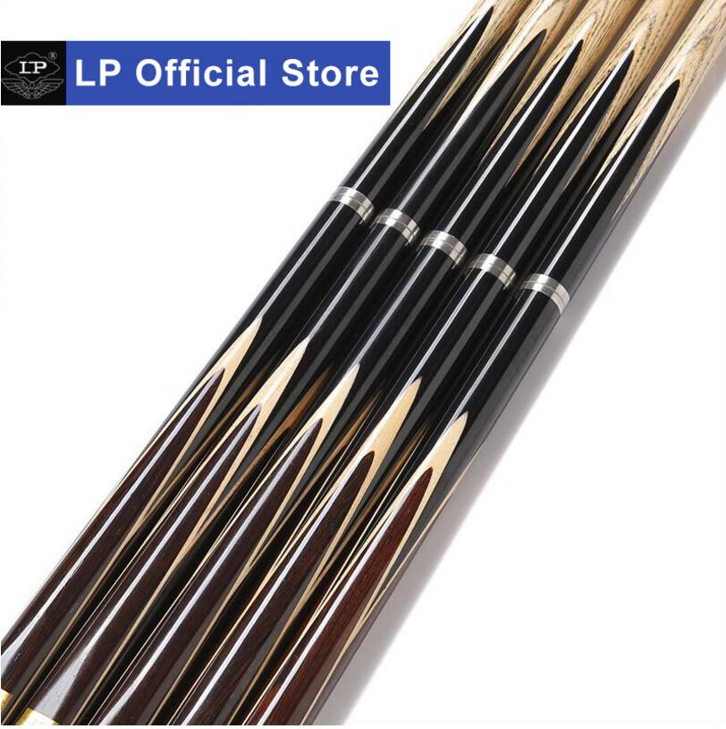 New LP Billiard Cue Handmade 3 4 Piece Snooker Cue with Case with Extension HUNTER Snooker Stick Cue 10mm Tip with Gifts 2019 in Snooker Billiard Cues from Sports Entertainment