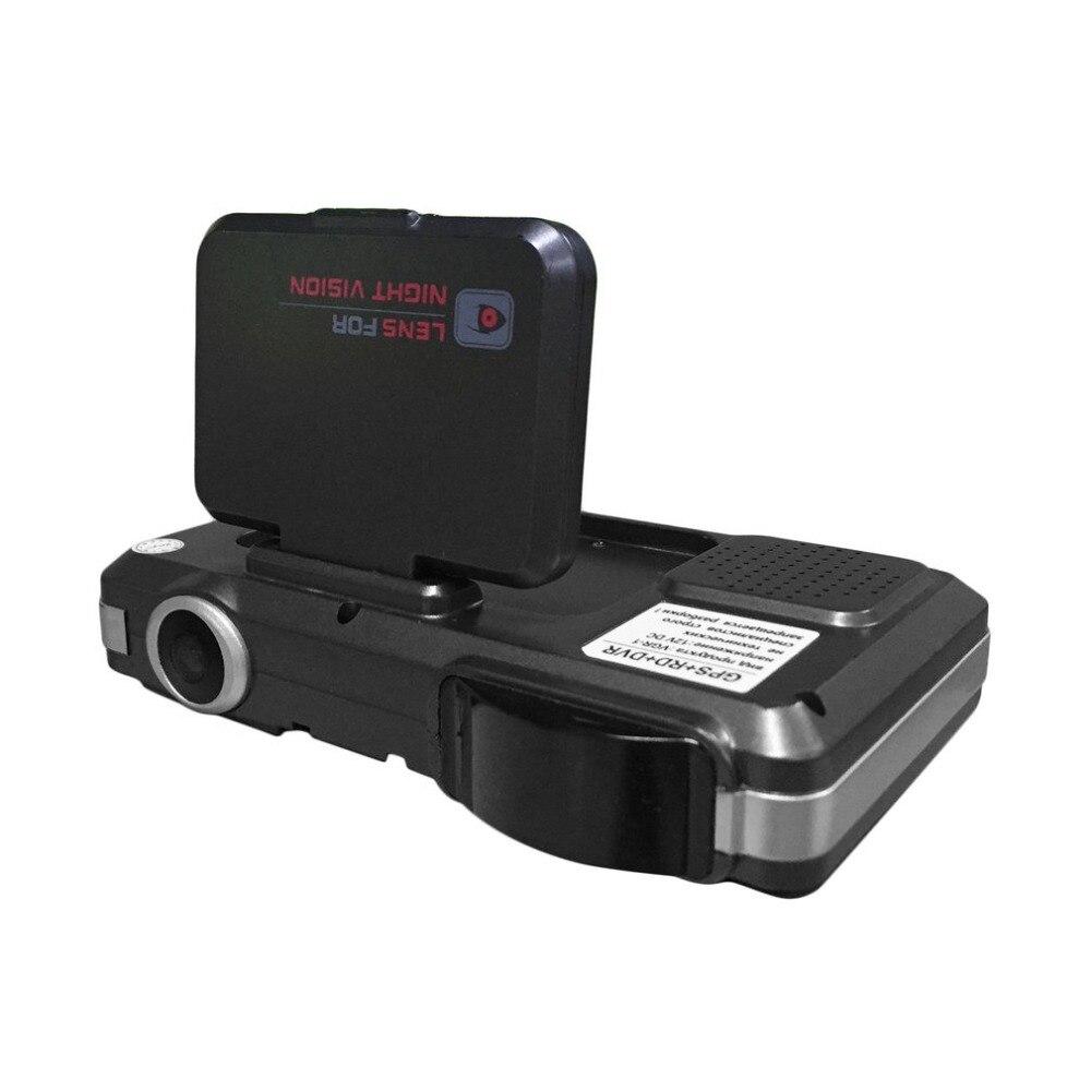 3 в 1 720 P 140 градусов Широкий формат Видеорегистраторы для автомобилей с Антирадары + gps русский предварительного предупреждения данных Регис...