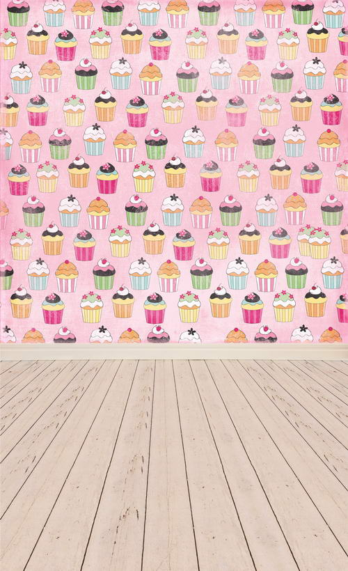 Customize vinyl cloth print birthday cakes pattern photography backdrops for children party portrait photo backgrounds F-829 customize vinyl cloth print european wedding church hall photo studio backgrounds for photography backdrops prop
