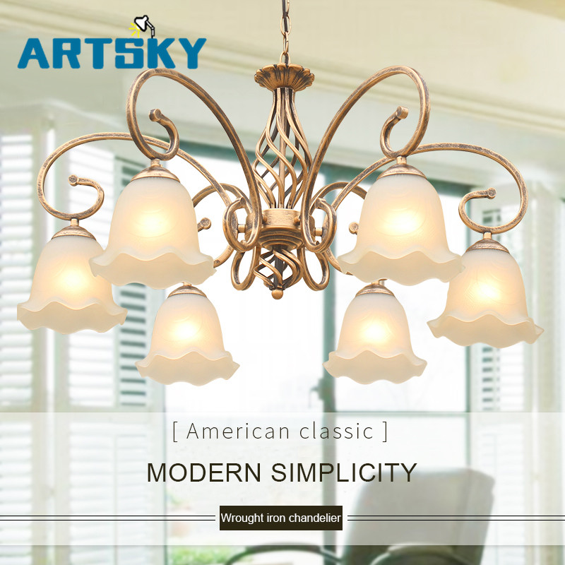 American country pendant light antique lamp simple European retro wrought iron Pendant Lights lamp loft lamp loft american country to do the old retro furniture wrought iron bar chairs antique dinette living room leisure chair