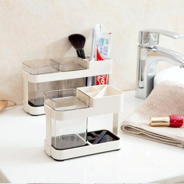 Bagno spazzolino tazza titolare dentifricio spazzolino da denti vestiti, creativ