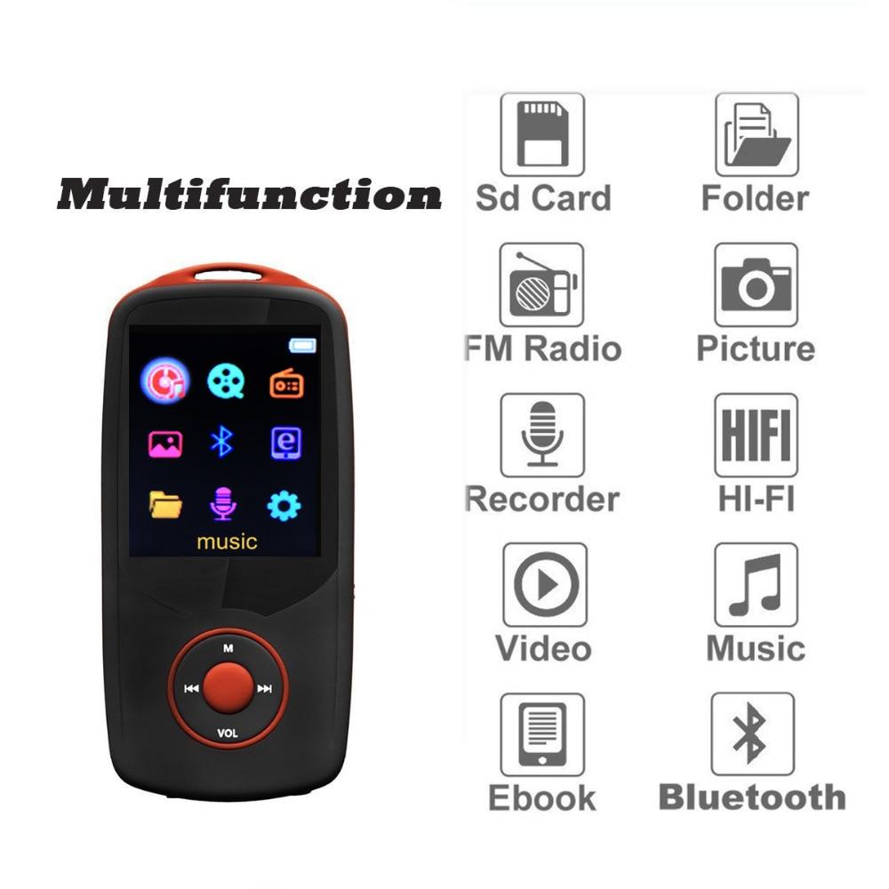 2018 Reproductor de mp3 original RUIZU X06 Bluetooth 16GB Reproductor - Audio y video portátil - foto 4