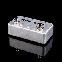 New Hand Made ABY Switch Box TRUE BYPASS! Amp / Guitar AB FREE SHIPPING
