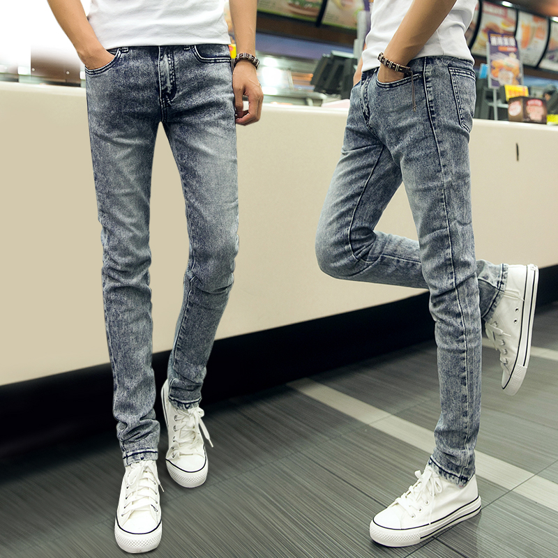 Skinny Jeans For Boys The slimmer fit and casual style of skinny jeans for boys can round out his casual and everyday wardrobe with ease. Whether he's heading back to school or needs to pull together a few outfits for the weekend, slim-fit jeans are a versatile addition to his wardrobe.