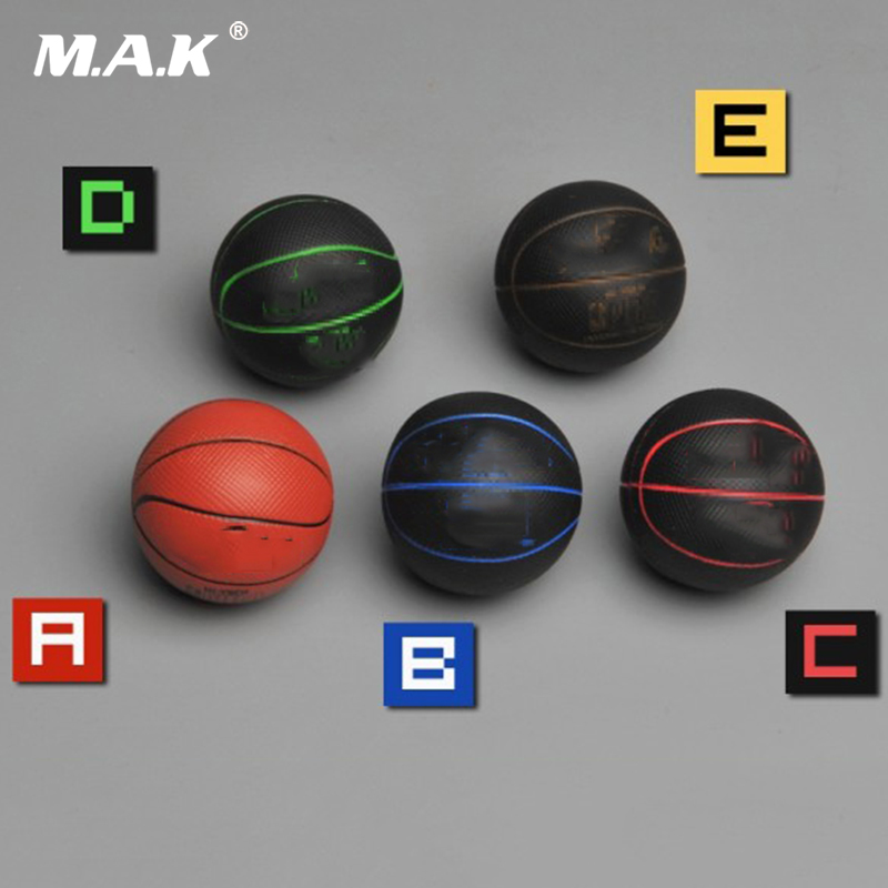 1/6 Scale Basketball Model Toys Scene Accessory Basketball Model For 12inches Action Figure Scene Accessories