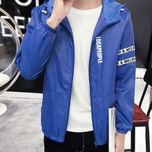 2017 Brand Clothing Spring Trench Coat Men Overcoat Lovers Wear abrigo hombre Jackets Solid hooded Slim Fit Outerdoor M-XXXL