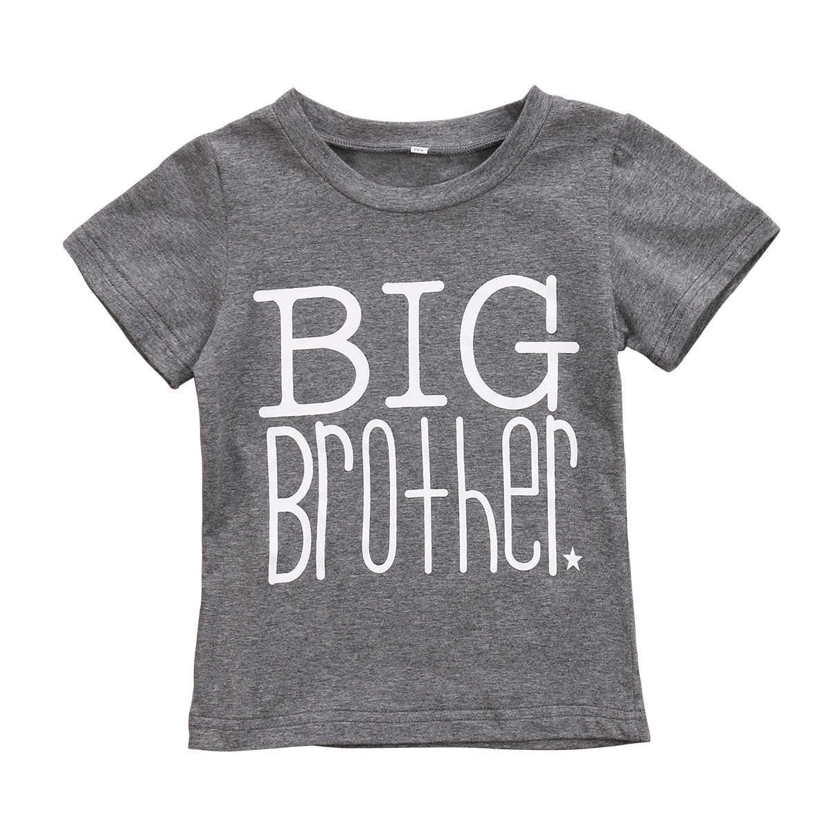 ビッグブラザー妹子供男の子ベビー女の子コットントップスtシャツ/ロンパース服